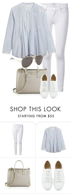 """""""Untitled #2026"""" by annielizjung ❤ liked on Polyvore featuring Frame, Chinti and Parker, Prada and Yves Saint Laurent"""