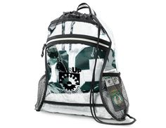 CLEAR EVENT DELUXE CINCHPACK (CASE OF 50) Need your program's logo on this item? Call Christine Hoey in Customer Support at 866.241.7606 for more information, or email info@proformagreen.com. #GEARUPworks