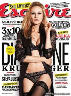 Diane Kruger - Esquire Magazine Cover [Czech Republic] (November 2011)