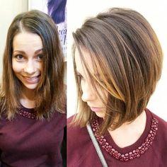 cute medium bob haircut