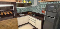 varanga gourmet turquesa  - Galeria de Projetos Promob