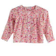 Bata manga longa floral Look perfeito para as meninas charmosas em um dia lindo de verão. Estilo Boho Chic para meninas você encontra aqui no Mamãe Achei!