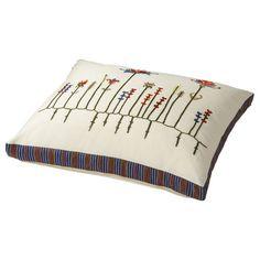 Ikea Birgit throw pillow, Scandinavian embroidery