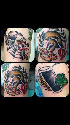 skinhead tattoos boat tattoos irish tattoos traditional tattoos be my . Skinhead Tattoos, My Compass, Skinhead Fashion, Arm Tattoo, Boat Tattoos, Old School, Piercings, Punk, Traditional Tattoos