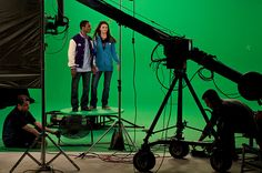 How to Set Up a Green Screening Studio -- via wikiHow.com