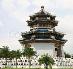 Image of 'Pagoda Traditional Chinese Temple Famous oriental spiritual building'
