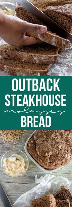 Make the popular Outback Steakhouse bread with this copycat recipe requiring no fancy equipment or restaurant trip. Soft, chewy, with a crisp crust and dark brown color without any funky ingredients! Best Soup Recipes, Loaf Recipes, Bread Machine Recipes, Favorite Recipes, Drink Recipes, Keto Recipes, Dessert Recipes, Outback Steakhouse Recipes, Outback Recipes
