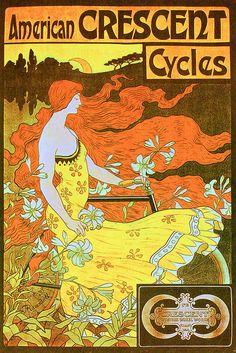 En favor de las bicicletas de la época.