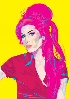 Amy Winehouse (September 14, 1983 - July 23, 2011) British singer and songwriter (her hits: 'You know i'm good' and Valerie - with Mark Ronson).