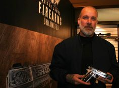 Jesse James Firearms Unlimited at Shotshow 2016.