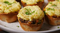 Mini Shepherd's Pies  - Delish.com