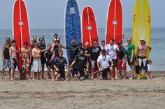 Foto de grupo Paddle #SUP en #calpe #costablanca