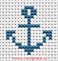 Anchor, free cross stitch patterns and charts - www.free-cross-stitch.rucniprace.cz