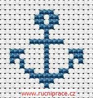 Anchor, free cross stitch patterns and charts - www.free-cross-stitch.rucniprace.cz