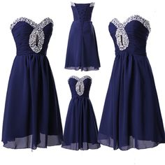 2014+New+Short+Sequins+Wedding+Bridesmaid+Dresses+Bridal+Party+Homecoming+Dress
