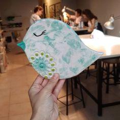 #studentworks  Kuşlar gibi özgür  Sır siparişi www.duyguseramikboya.com  #seramik #ceramics #ceramique #keramik #도자기 #bird #kus… Hats, Instagram, Atelier, Hat, Hipster Hat