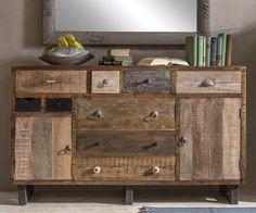 vintage style mobel unikat sideboard sideboard selber bauen holz wohnzimmer badezimmer paletten ideen wohnung