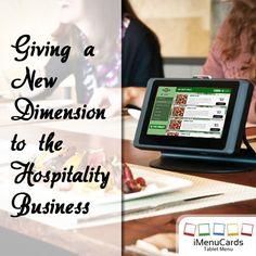 Helping restaurants all over the world with innovative tablet menu solutions! Know more here: www.imenucards.in  #imenu #tabletmenu #digitalmenu #restaurant