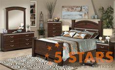 La Jolla Cafe 6pc Bedroom Set