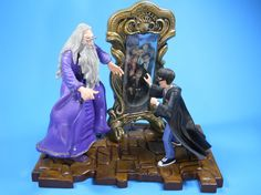Harry Potter Figurine Dumbledore Mirror of Erised Warner Brothers Cake Topper