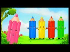 La chanson des couleurs - YouTube