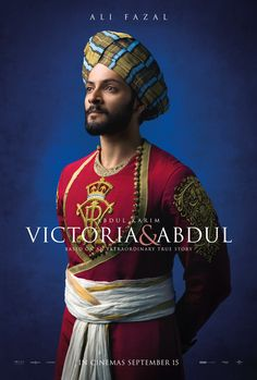 First Character Poster of Ali Fazal from Victoria and Abdul