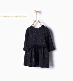 ZARA - ENFANTS - Robe à étoiles brillante