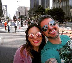 Passeio na Paulista hoje teve e foi bom demais!  com @vidamaefitness