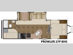 Used 2014 Heartland Prowler 27P BHS Travel Trailer at General RV | North Canton, OH | #151502