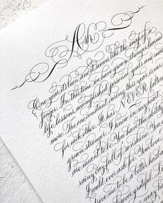 Calligraphy Fonts Alphabet, Brush Pen Calligraphy, Calligraphy Video, Calligraphy Tutorial, Copperplate Calligraphy, Lettering Tutorial, Hand Lettering, Penmanship, Caligraphy