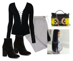 """""""⭐️"""" by aerielle24 ❤ liked on Polyvore featuring T By Alexander Wang, Witchery and Fendi"""