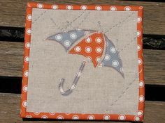Zakka Mug Rug by alphabecky, via Flickr