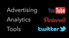 Advertising Analytics : YouTube , Pinterest , Twitter #bigsale #discount #deals #saledepot