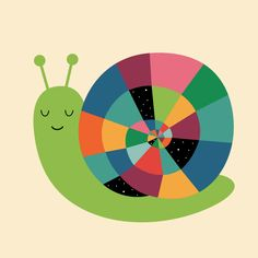 Snail Time - Slow down your pace, slow down your schedule, just enjoy your own snail time.