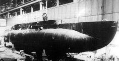 X-Type submarine built at Marshalls Works 1944