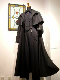 Overcoat with fringes Old Fashion Dresses, Fashion Outfits, Kleidung Design, Drawing Clothes, Mode Vintage, Character Outfits, Mode Outfits, Gothic Fashion, Costume Design