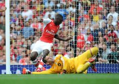 Arsenal 5 Benfica 1 - Sanogo gets on the score sheet for the first time!