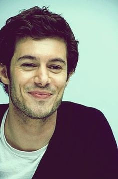 Adam Brody. i want a guy as nerdy and awkward as seth cohen from the oc...and as sexy.