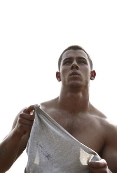 Get your water bottle ready. All the photos you need to see from the Details magazine photo shoot with Nick Jonas. Jonas Brothers, Jake Gyllenhaal, Nick Jonas Sem Camisa, Chris Hemsworth, Nick Jonas Shirtless, Nick Jonas Pictures, Fashion Business, Details Magazine, Hommes Sexy