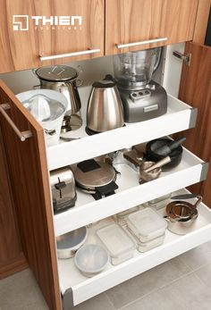 Ngăn tủ bếp #NewHomeAppliances