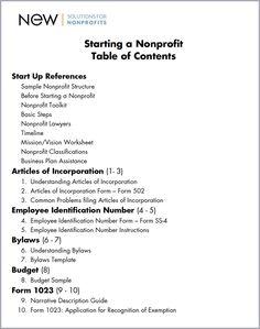 Building Blocks Of Starting A Nonprofit Organization  NonProfit