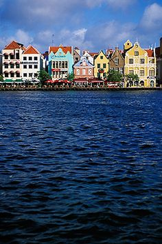 (as of March 2013) Curacao, Willemstad - Handelskade waterfront, historic buildings