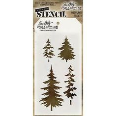 Tim Holtz > Woodland Tim Holtz Layered Stencil Set: A Cherry On Top                                              $5.39