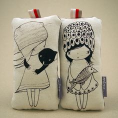 New Lilu Stuffed Prints by minu (formally called sissT), via Flickr