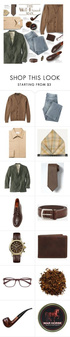 """""""The Well Dressed Man 2"""" by gracekathryn ❤ liked on Polyvore featuring WALL, Givenchy, Prada, Frye, J.W. Anderson, Ingersoll, EyeBuyDirect.com, men's fashion, menswear and mens"""