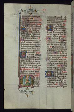 Missal of Eberhard von Greiffenklau, Martyrdom of St. Lucy in half-length, Walters Manuscript W.174, fol. 174v by Walters Art Museum Illuminated Manuscripts, via Flickr
