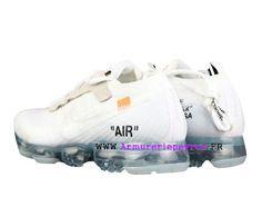 2018 Nouvelle Coutume Off-White X Nike Air VaporMax Prix taille des Hommes Big blanc AA3831-100