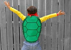 TMNT inspired turtle shell great for birthday by Widishiskadi