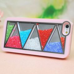 Nice Pink Triangle Hard Cover Case For Iphone 4/4s | iphone5vip - Accessories on ArtFire