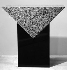 Scott Burton, Granite Table